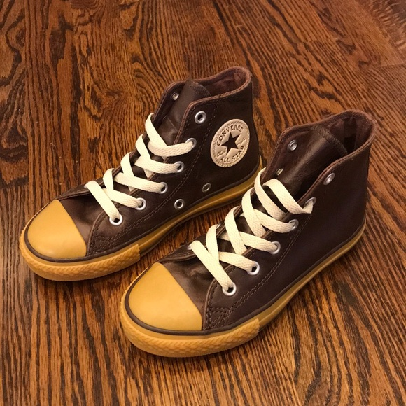 47e4f002475c Converse Other - NWOT Chucks All Star Converse Leather Hi Top Sz12